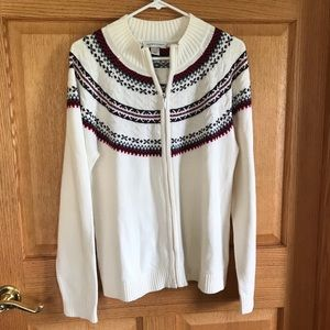 Christopher& Banks size Large sweater